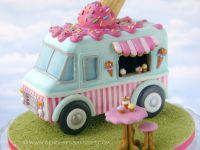 Themaworkshop Gingerbread Ice Cream Truck in Heerlen (NL)