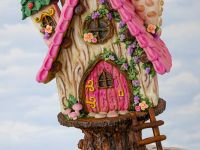 Themaworkshop Gingerbread Fairy House in Voorburg (NL)