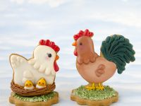 3D Chicken & Rooster cookie - Basic class