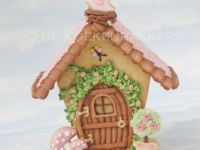 3D Cookie garden house