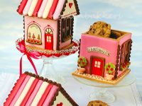 Gingerbread House bakery Cookie Jar