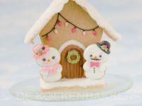 Gingerbread Snowman house
