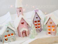 Glitter Gingerbread Village
