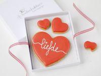 Koekjeskaart Liefde...