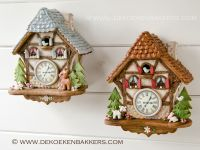 Gingerbread Cuckoo Clocks