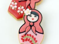 Matroesjka koekjes klein met logo